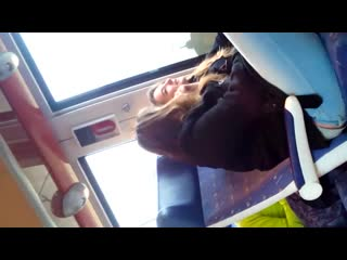 2 french cunts watch cock flash on train