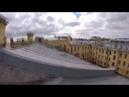 Падение руфера / СПБ / Залаз на 2 гимназию / Здание РГО