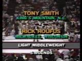 1986-04-26 Rick Roufus vs Tony Smith  Karatemania I