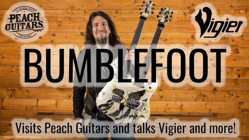 Ron Bumblefoot Thal at Peach Guitars!