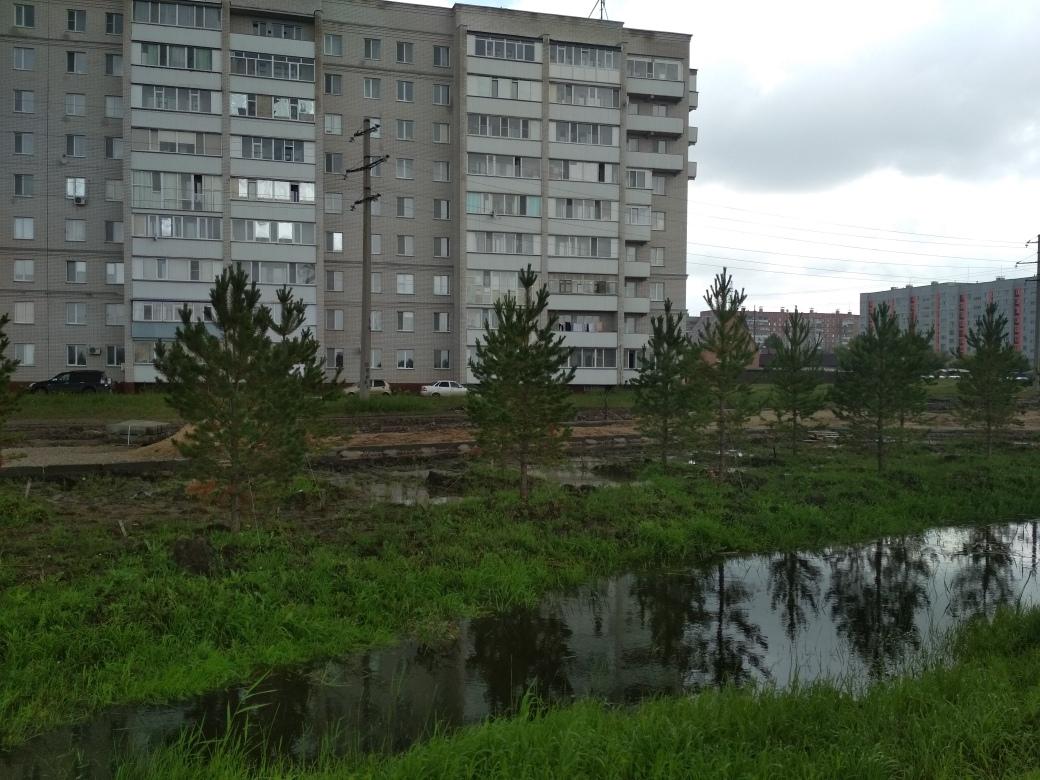 В Петропавловске из-за новой мечети дома находятся под угрозой подтопления