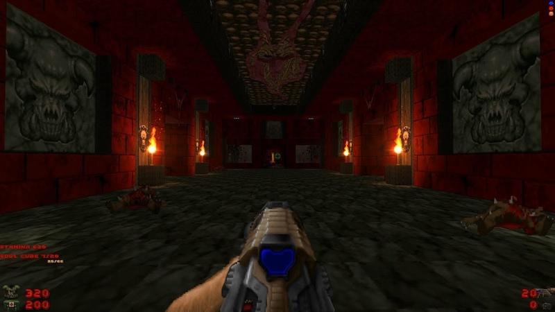 Whispers of Satan Level 27 Halls of Cocytus Brutal Doom Black Edition v3 1d Final