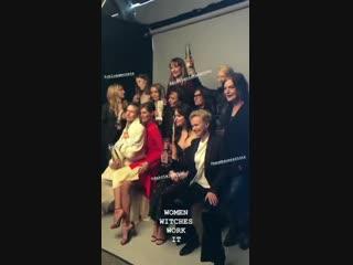 Cast posing at the #SpiritAwards
