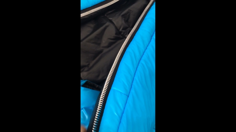 Sleeping bag bondage top material PerTex shiny and soft