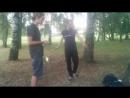 Тренировка в парке на Ниемиге.