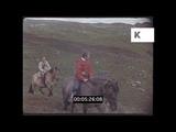 Scottish Highland Pony Trekking, 1960s UK, 35mm