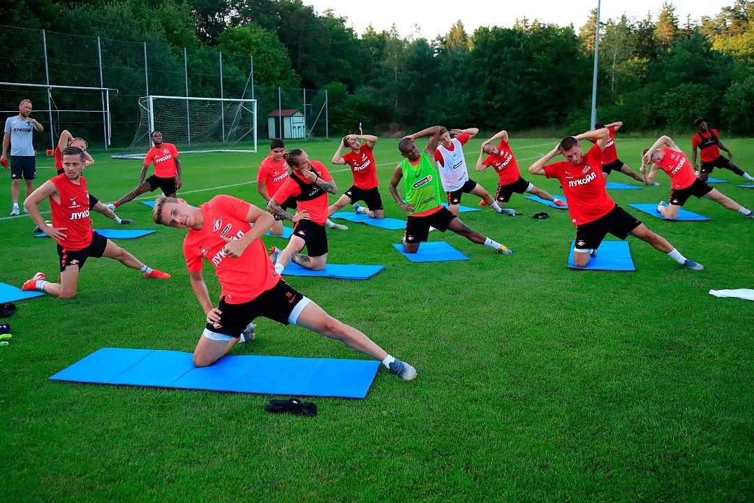 Первая тренировка «Спартака» в Штирии (Видео)