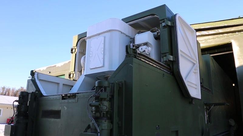 Заступление на опытно-боевое дежурство новейших лазерных комплексов «Пересвет»