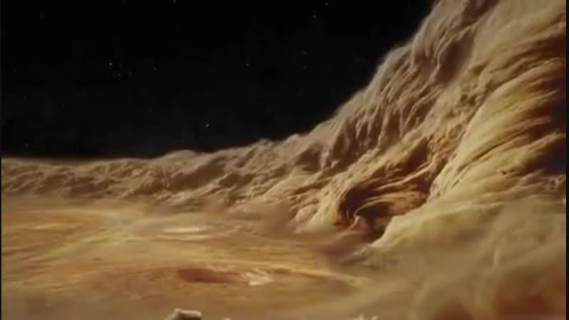 В облаках Юпитера Облака Юпитера состоят из кристаллов и капель аммиака.
