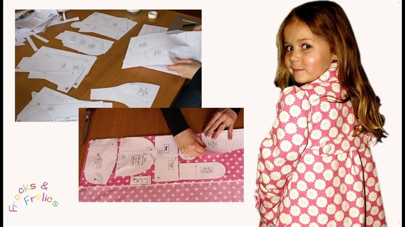 Sewing Pattern - Classic/Retro Girl's Coat - Part 1- Cutting out Pattern
