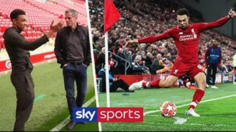 Trent Alexander Arnold explains the story behind THAT corner against Barcelona with Jamie Carragher