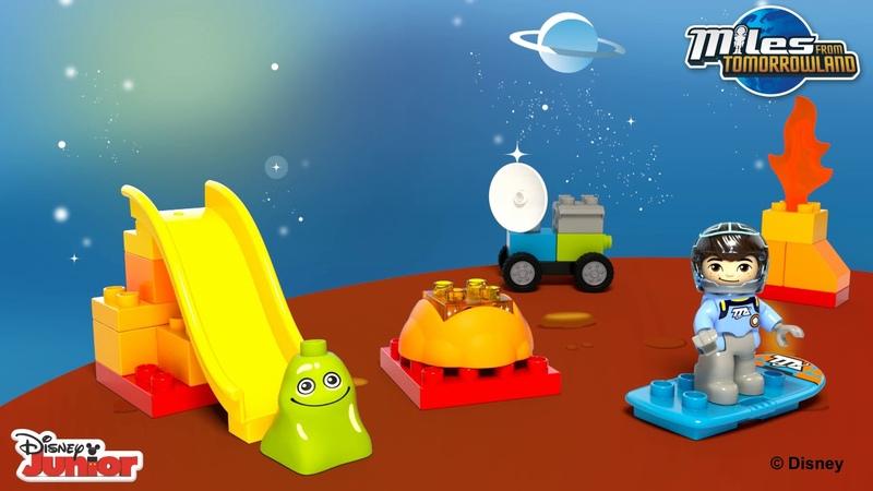 Конструктор LEGO DUPLO 10824 Космические приключения Майлза