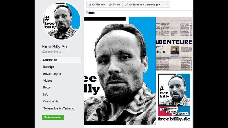 Freiheit für Billy Six FreeBillySix - Deutscher Journalist in Venezuela verhaftet