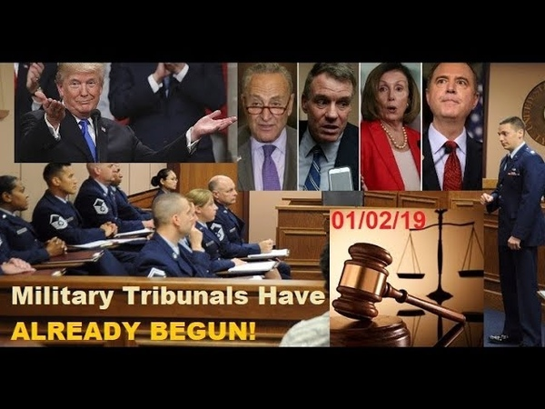MILITARY TRIBUNALS HAVE ALREADY BEGUN!