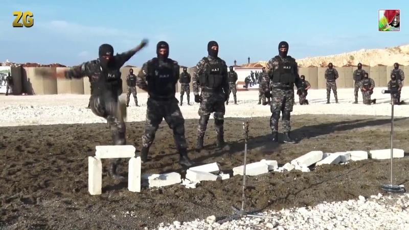 H.A.T Asayîşa Rojava HD3 armykurdish Special Forces