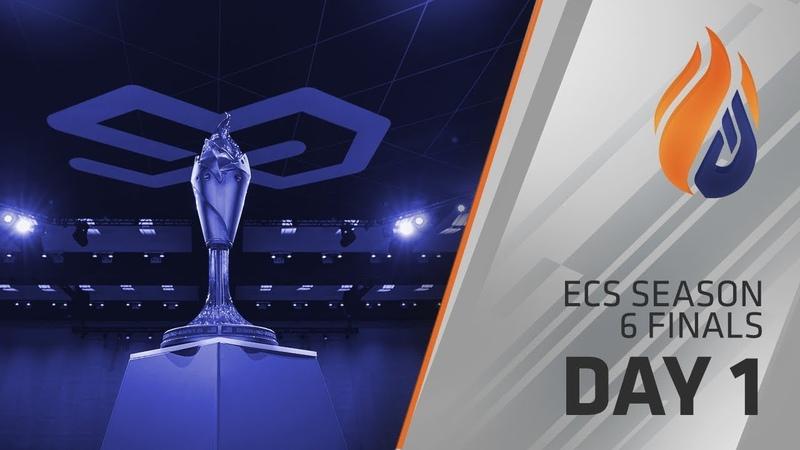 ECS Season 6 Finals Day 1 - Groups A/B