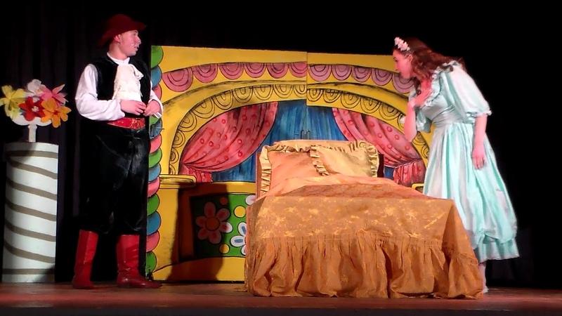 Спектакль Неспящая красавица часть 1