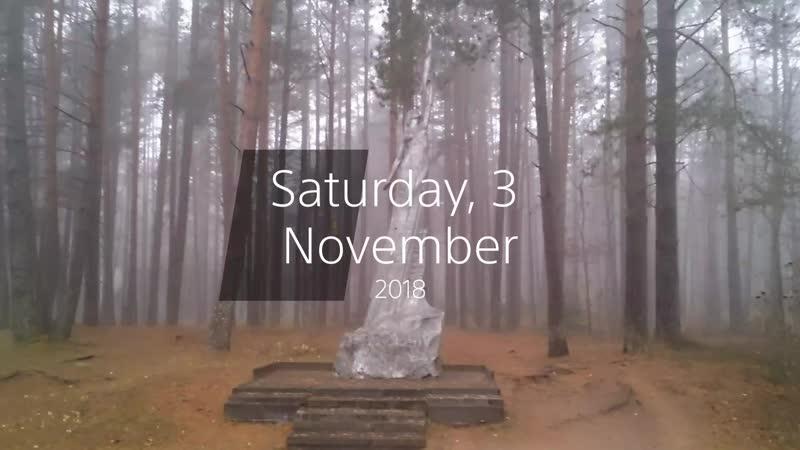Нарочь в ноябре 03.11.2018
