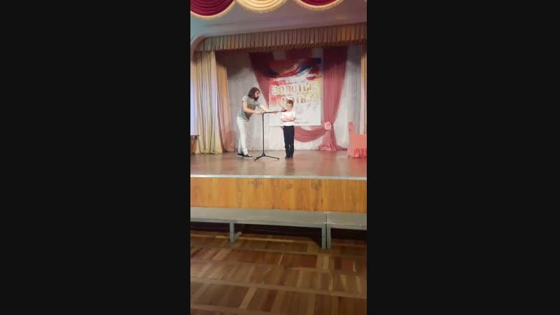 21.10.18 мой сыночек лауреат 2 степени в номинации художественное слово🤗💖
