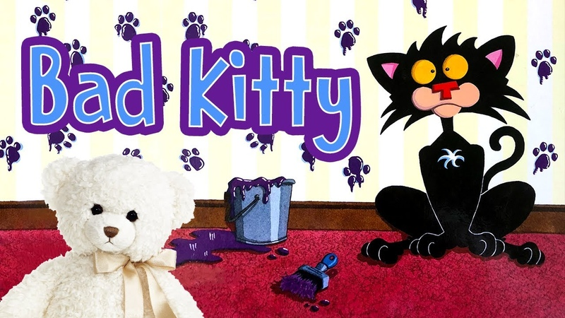 Bad Kitty! by Nick Bruel | Childrens Book Read Aloud | Storytime With Ms. Becky