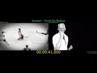 Scooter - Stuck On Replay (2010) (Original Version x No Hockey Version)