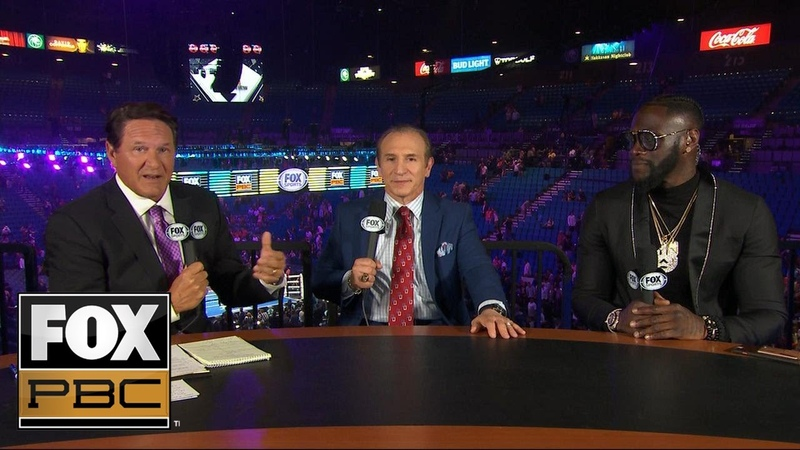 Deontay Wilder and Ray Mancini react to Manny Pacquiao's win over Keith Thurman PBC ON FOX
