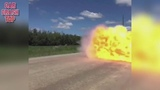 Fire and speed car