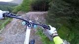 Gee Atherton Tests INSANE MTB Trail GoPro View - Red Bull Hardline
