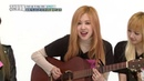 BLACKPINK Rosé guitar solo Weekly Idol