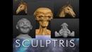 Sculptris правила лепки урок 2