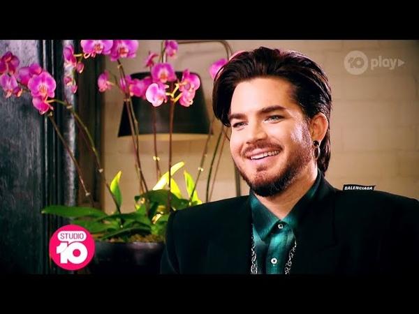 Adam Lambert Dishes On His New Music | Studio 10