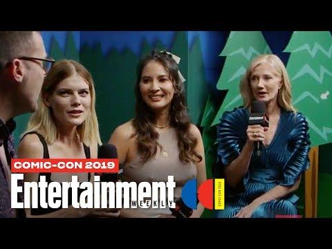 'The Rook' Stars Olivia Munn, Emma Greenwell Joely Richardson | SDCC 2019 | Entertainment Weekly