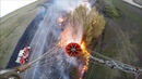 Sheriff's STARR 1 Helicopter Grass Fire Outside Assist