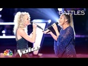 Katrina Cain and Rachel Messer Get Competitive to Sarah McLachlan's Angel The Voice 2018 Battles