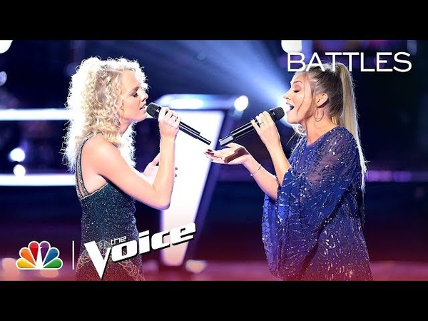 Katrina Cain and Rachel Messer Get Competitive to Sarah McLachlans Angel - The Voice 2018 Battles
