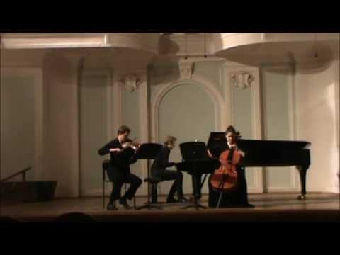 П.Чайковский. Фортепианное трио
