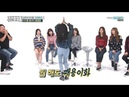 Twice dancing song Baby Shark Weekly Idol