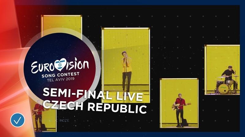 Czech Republic - LIVE - Lake Malawi - Friend Of A Friend - First Semi-Final - Eurovision 2019