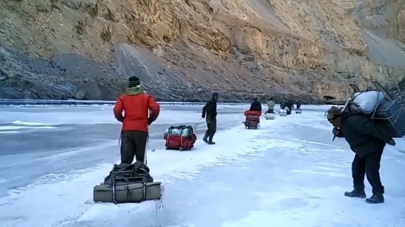 Chadar Trek Zanskar Ladakh Thrilling Walk on the Frozen River Ladakh Tourism