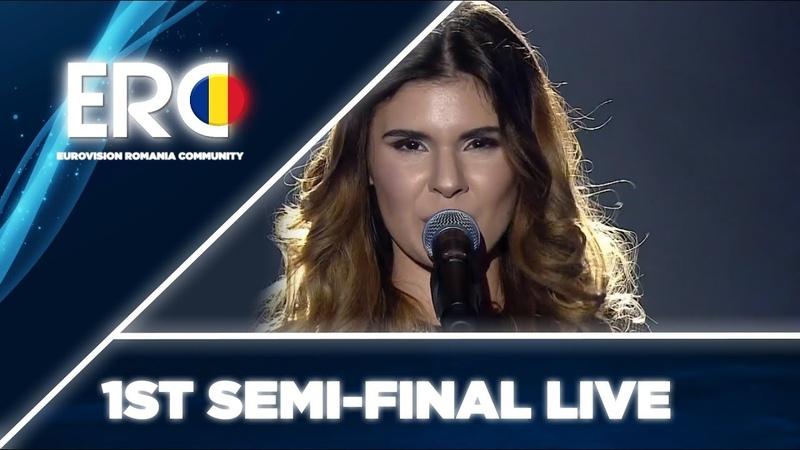 Teodora Dinu - Skyscraper - LIVE - 1st Semi-Final - Selecția Națională 2019