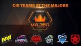 CIS Teams at the Majors (NaVi, Winstrike, Vega Squadron, Gambit, Spirit, Hellraisers)