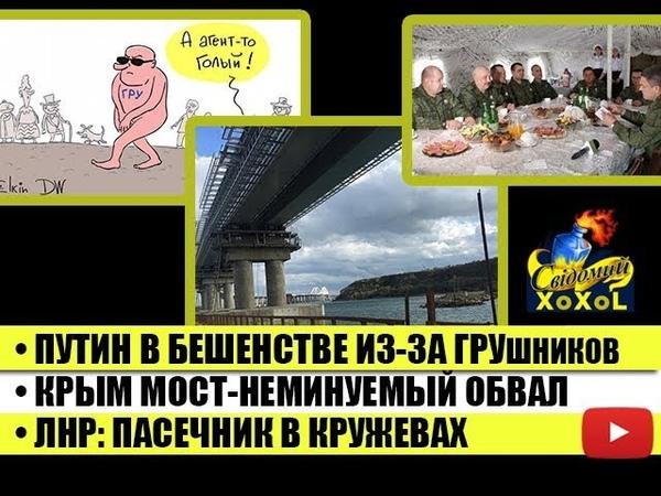 Путин в бешенстве из за ГРУшников Крым мост неминуемый обвал ЛНР Пасечник в кружевах