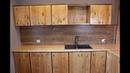Поехали!! Кухня из дерева! Кухня за 165 долларов! Кухня своими руками!!
