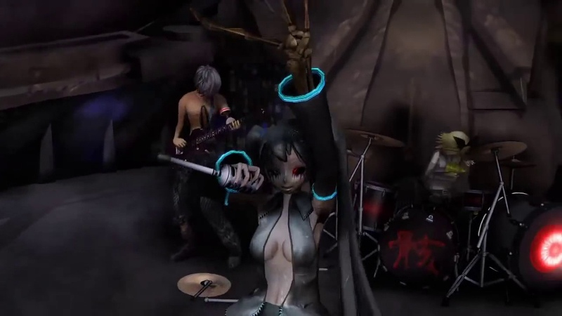 11th MMD Cup finals Hatsune Miku Corpse Attack Shroud sound Shie pollution LIVE Band Edition 1