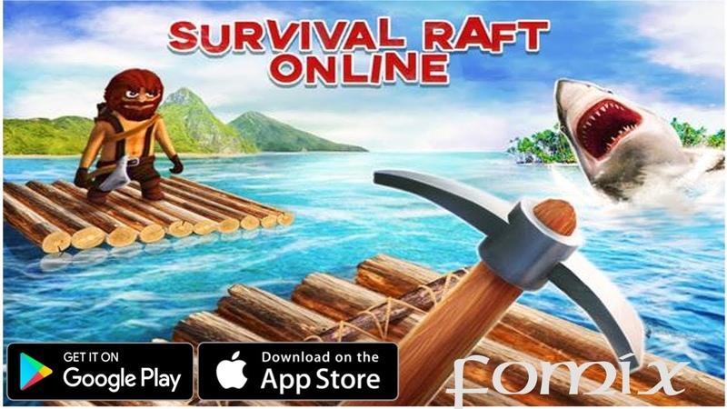 Survival on Raft Online - первый взгляд, обзор (Android Ios)