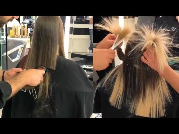 Cortes de Cabello Transformación de Color / New Haircut and Color Transformation