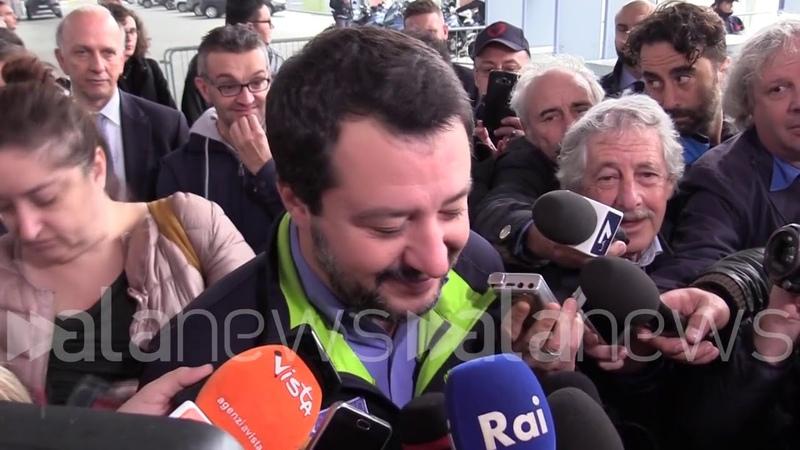 Raggi, Salvini: Dell'Opa l'ho letto sui giornali. Decidono i cittadini