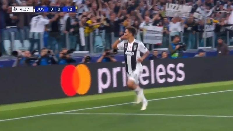 Роналду во время гола Дибалы ошарашил всех... Лига чемпионов. 2 тур. Обзор матчей