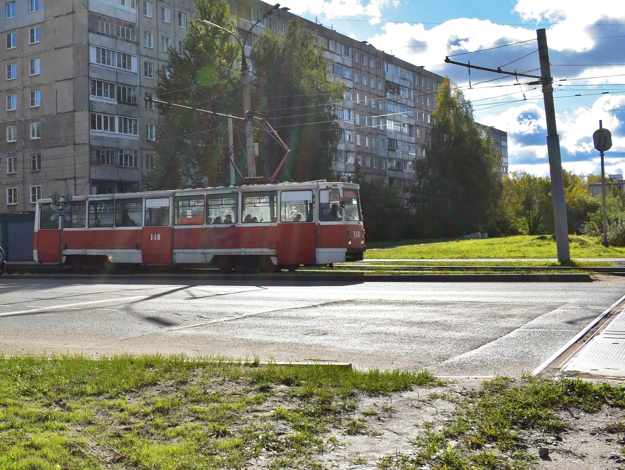 Трамвай. Ярославль