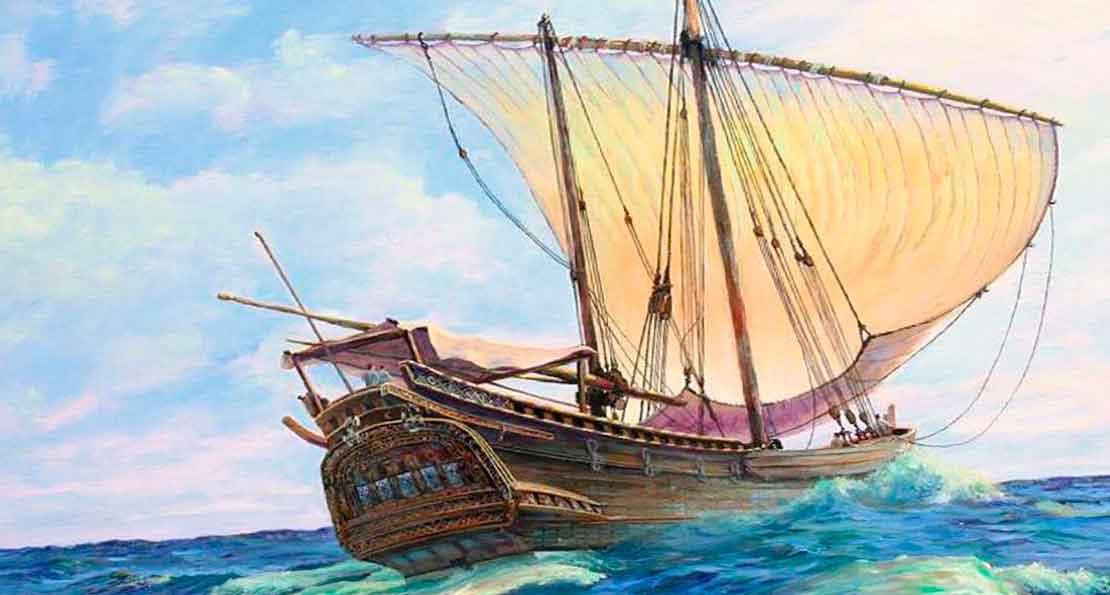 Арабское судно